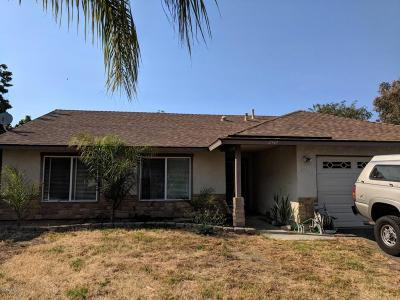 Ventura Single Family Home Active Under Contract: 2547 Toltec Court
