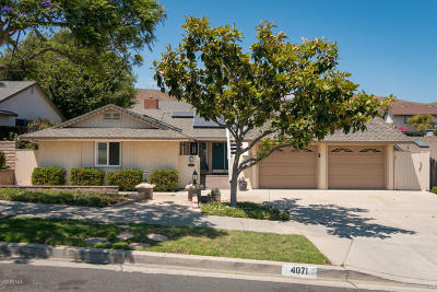 Ventura Single Family Home For Sale: 4071 Doane Street
