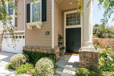 Thousand Oaks Single Family Home For Sale: 2634 Miller Place