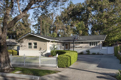 Ventura Single Family Home For Sale: 5489 Bryn Mawr Street
