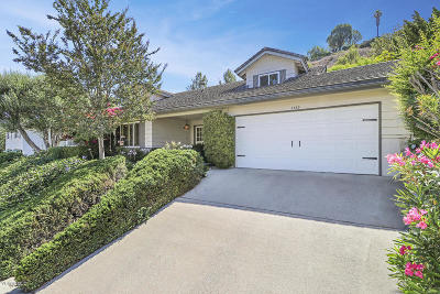 Thousand Oaks Single Family Home For Sale: 1390 Morrow Circle