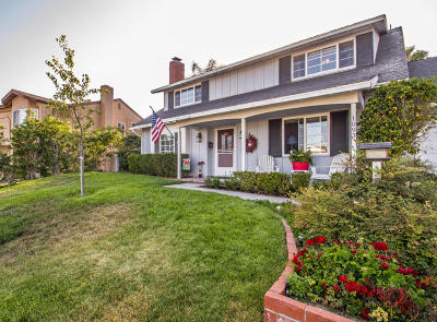 Camarillo Single Family Home Active Under Contract: 1093 Beechwood Street