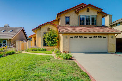 Camarillo Single Family Home For Sale: 5340 Fieldcrest Drive
