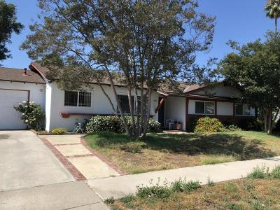 Newbury Park Single Family Home For Sale: 3223 Gerald Drive