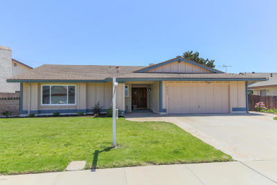 Camarillo Single Family Home For Sale: 3866 Almendro Way