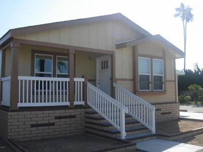 Camarillo Mobile Home For Sale: 4388 Central Avenue #1