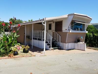 Ojai Mobile Home For Sale: 1075 Loma Dr #5