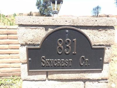 Ventura Residential Lots & Land For Sale: 831 Skycrest Court