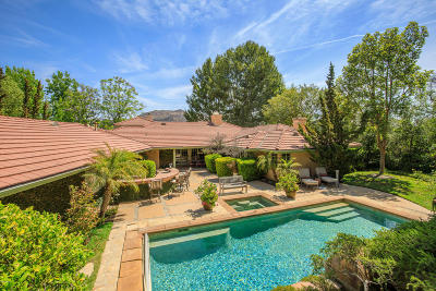 Westlake Village Single Family Home For Sale: 4918 Floresta Court