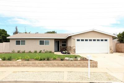 Moorpark Single Family Home Active Under Contract: 737 Shasta Avenue