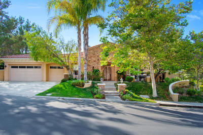 Westlake Village Single Family Home For Sale: 2183 Hathaway Boulevard