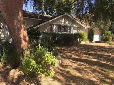 Ojai CA Single Family Home Active Under Contract: $569,500