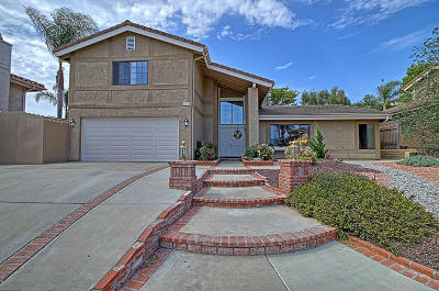 Ventura Single Family Home For Sale: 6433 Curlew Place