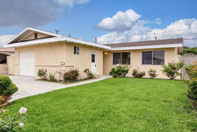Oxnard Single Family Home For Sale: 142 Cordova Street