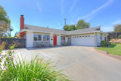 Camarillo Single Family Home For Sale: 741 Leonard Street