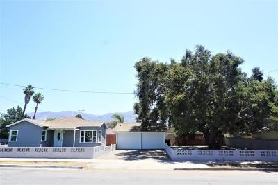 Santa Paula Single Family Home For Sale: 1128 High Street