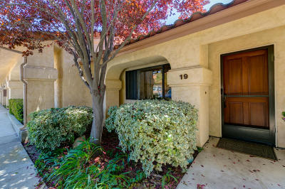 Ojai Single Family Home Active Under Contract: 848 Woodland Avenue #19