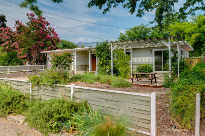 Ojai CA Single Family Home Active Under Contract: $675,000