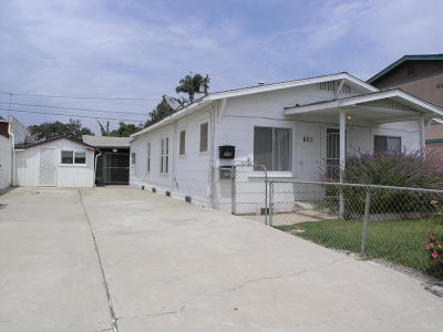 Ventura CA Single Family Home For Sale: $559,000