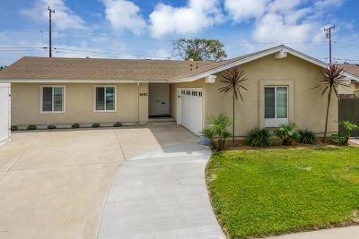 Ventura County Single Family Home For Sale: 1692 Burnley Street