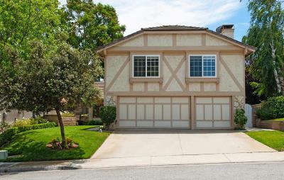 Newbury Park Single Family Home For Sale: 3922 Calle Buena Vista Street