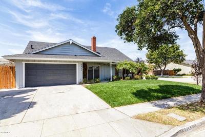 Ventura Single Family Home For Sale: 8493 Eureka Street
