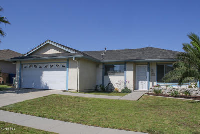 Ventura Single Family Home Active Under Contract: 1764 Shannon Avenue