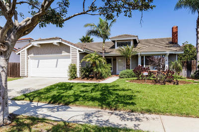 Oxnard Single Family Home For Sale: 720 Ebony Drive
