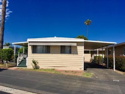Oxnard Mobile Home Active Under Contract: 2400 E Pleasant Valley Road #100