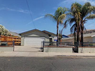 Fillmore Single Family Home Active Under Contract: 825 4th Street