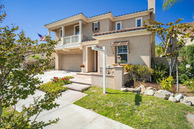 Moorpark Single Family Home Active Under Contract: 13709 Swift Run Street