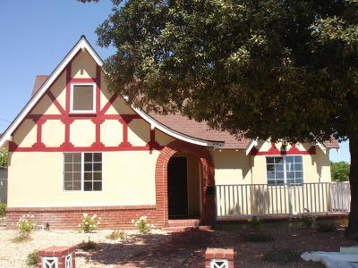 Santa Paula Single Family Home Active Under Contract: 511 Mill Street