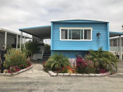 Ventura County Mobile Home Active Under Contract: 4388 Central Avenue #29