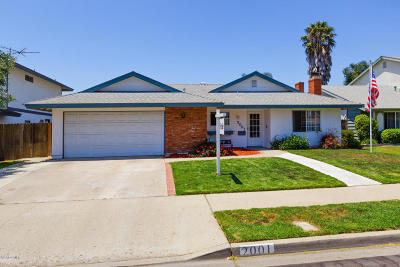 Oxnard Single Family Home Active Under Contract: 2001 Patricia Street