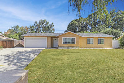 Thousand Oaks Single Family Home For Sale: 681 Calle Pensamiento