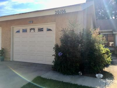 Camarillo Single Family Home For Sale: 20106 Village 20