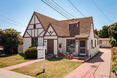 Ventura Multi Family Home Active Under Contract: 203 S Santa Cruz Street