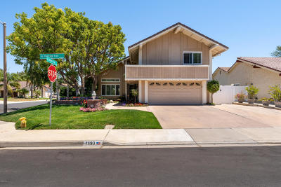 Camarillo Single Family Home For Sale: 1590 Heritage Trail
