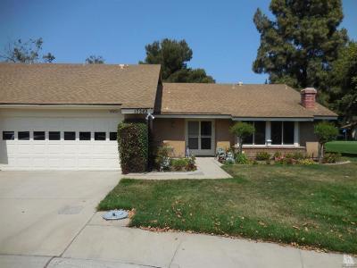 Camarillo Single Family Home Active Under Contract: 17242 Village 17