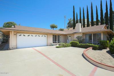 Thousand Oaks Single Family Home For Sale: 2431 Sapra Street