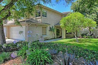 Oxnard Single Family Home Active Under Contract: 553 Madrina Place