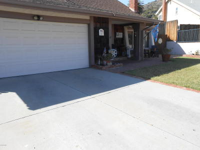 Fillmore Single Family Home Active Under Contract: 843 Valley Vista