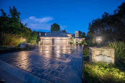 Westlake Village Single Family Home For Sale: 5462 Edgecliff Circle