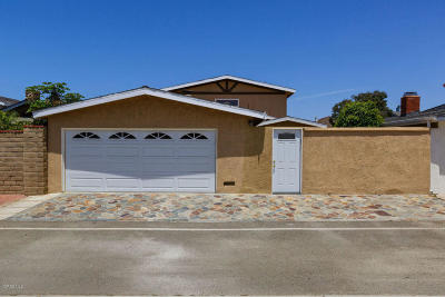 Oxnard Single Family Home For Sale: 5121 Sealane Way
