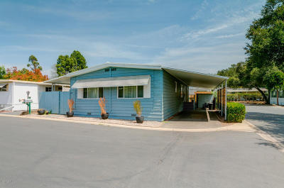 Ojai Mobile Home For Sale: 1225 S Rice Road #71