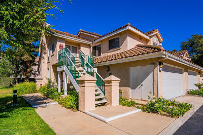 Simi Valley Single Family Home Active Under Contract: 426 Kennerick Lane #C