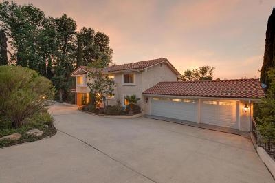Thousand Oaks Single Family Home For Sale: 1239 La Peresa Drive