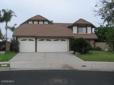 Oxnard Single Family Home For Sale: 2206 Inverness Court