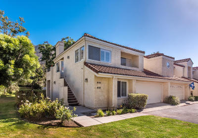 Camarillo Single Family Home Active Under Contract: 6122 Paseo Encantada #152
