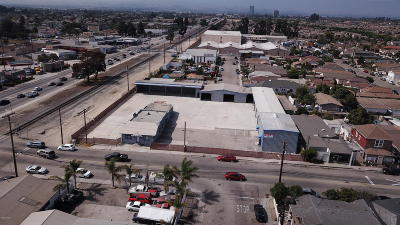 Oxnard Commercial For Sale: 121 Cooper Road Road